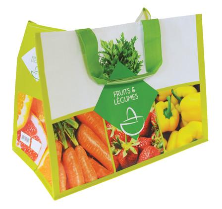 Cabas durable cabas réutilisable cabas primeur fruits et