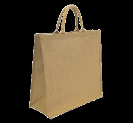 sac cabas durable en toile de jute tous commerces bourges emballages. Black Bedroom Furniture Sets. Home Design Ideas