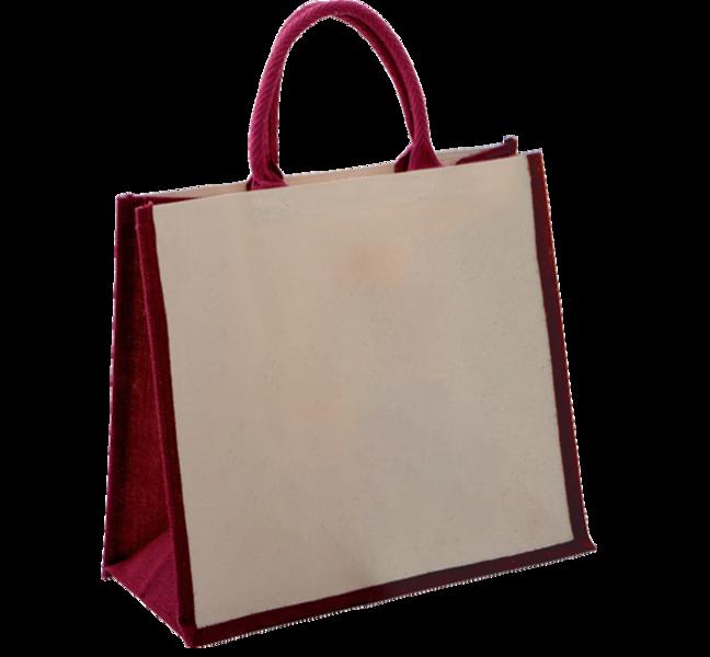 sac cabas durable en toile de jute et coton tous commerces bourges emballages. Black Bedroom Furniture Sets. Home Design Ideas